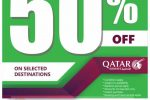Qatar Airways 50% off Global Sale 2018 – Starts Again