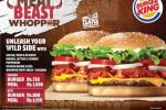 Burger King Meat Beast Whopper Promotion