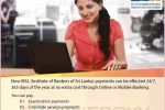 DO your IBSL Payments through Commercial Bank Online Banking