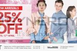 25% off for UNITED COLORS OF BENETTON Branded Clothings in Sri Lanka till 12th April 2018