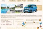 Cocoon Resorts and Villas Anniversary Bonanza – Suzuki Wagon R for Every Month