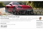 Brand New Porsche 718 Cayman Price in Sri Lanka – Rs. 23.5 Million from Porsche Centre Sri Lanka