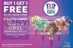 Baskin Robbins Buy 1 Get 1 Free Promo – Valid till 15th June 2018