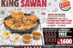 Burger King Sri Lanka introduce King Sawan for Rs. 1,600.00