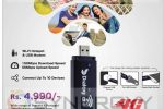 Dialog 4G Wingle Wi-Fi Hotspot & USB Modem for Rs. 4,990/-