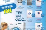 Washing Machine Prices from Singer Sri Lanka – June 2018