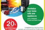 20% at Abans for Commercial Bank Credit & Debit Card