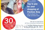 30% for Commercial Bank Visa Card at Fashion Bug on 29th & 30th September 2018