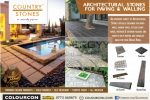 Architectural stones for paving & walling