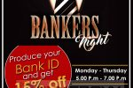 Hotel Sapphire Bankers Night – Special Promotion