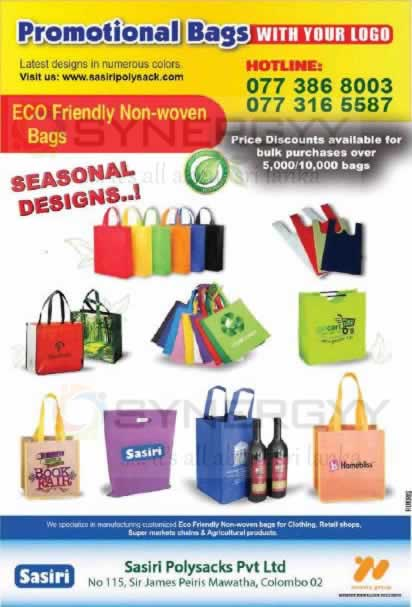 Eco Friendly Non-woven bags for Brand Promotional