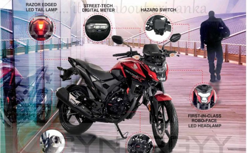 Honda CB160X Price in Sri Lanka – Rs. 399,900/-
