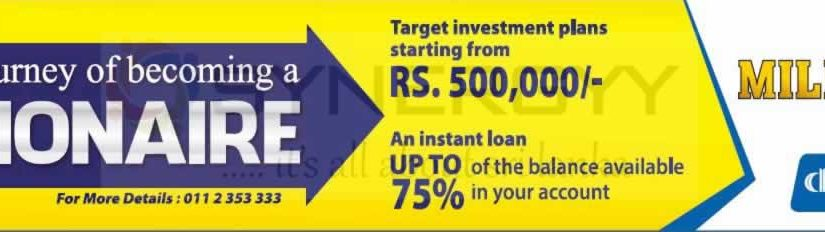 Millionaire Account by Commercial Bank of Ceylon PLC
