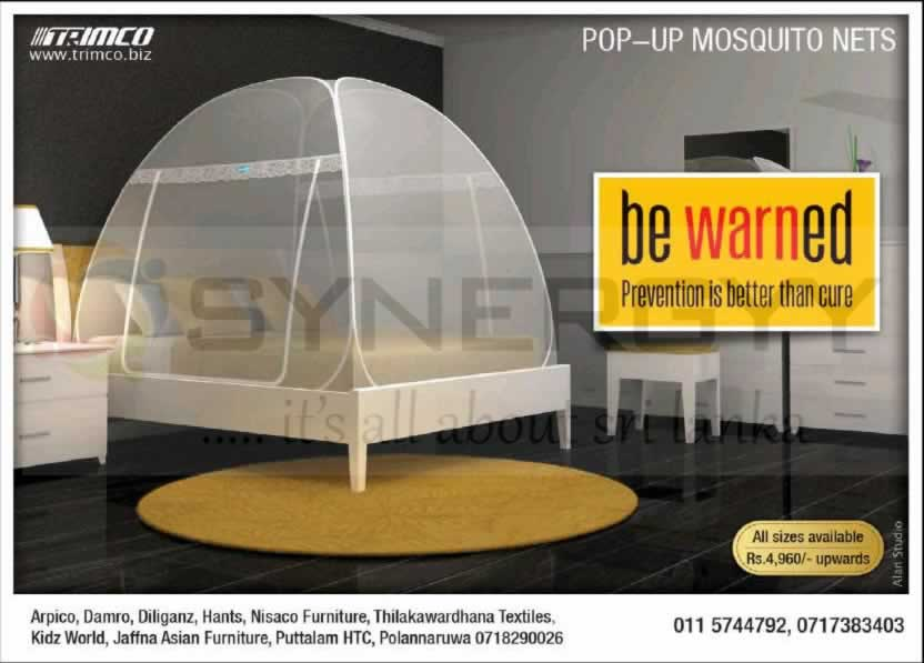 Trimco pop-up mosquito nets – Price starts from Rs. 4,960.00