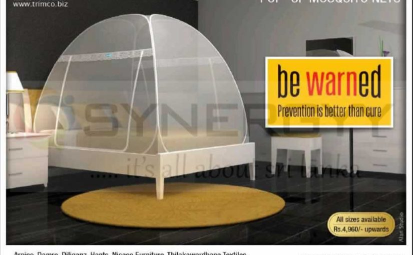 Trimco pop-up mosquito nets – Price starts from Rs. 4,960/-