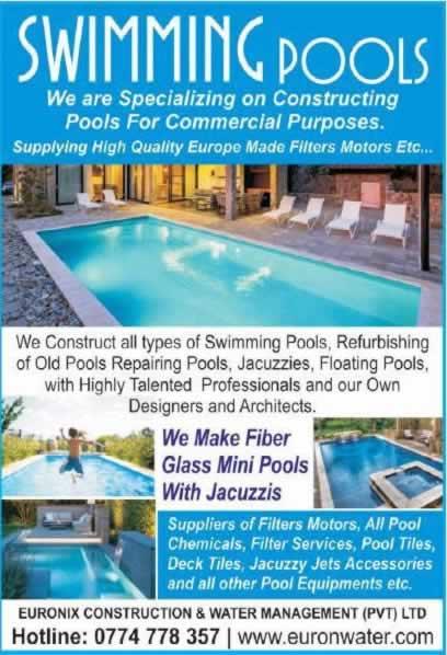 Build your own swimming pool in Sri Lanka