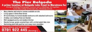 Nearest Day-out destination for Colombo – The Pier Bolgoda