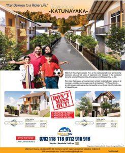 Millennium City Katunayaka – Open for sale Now
